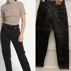 Vintage Levis 550 relaxed in faded black